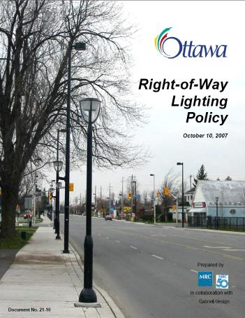 Ottawa Policy